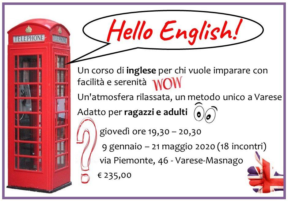Corso inglese Varese